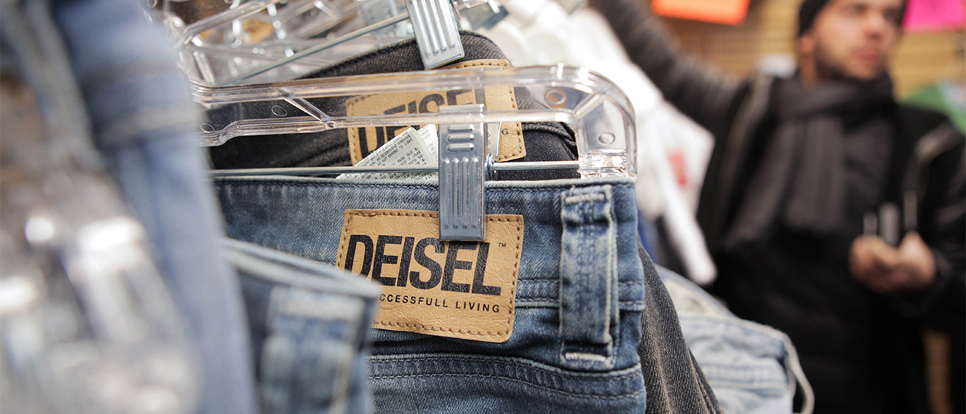 Deisel pop up from Diesel