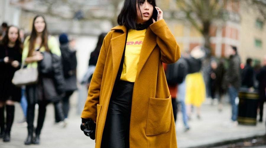 Digital influencer Margaret Zhang wears Vetements