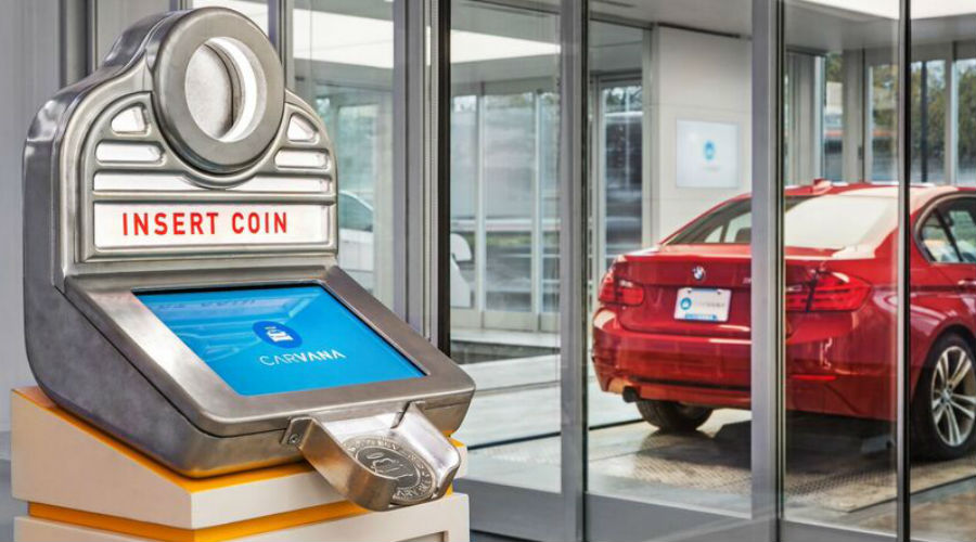 Carvana's vending machine