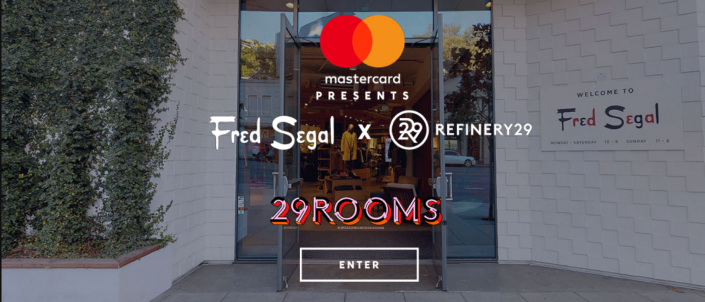 Fred Segal partners with Mastercard and Refinery29