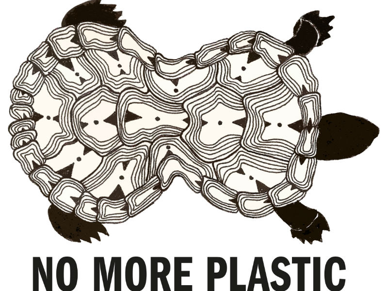 No More Plastic's Logo – Current Daily