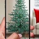 Target's AR Christmas tree shopping app