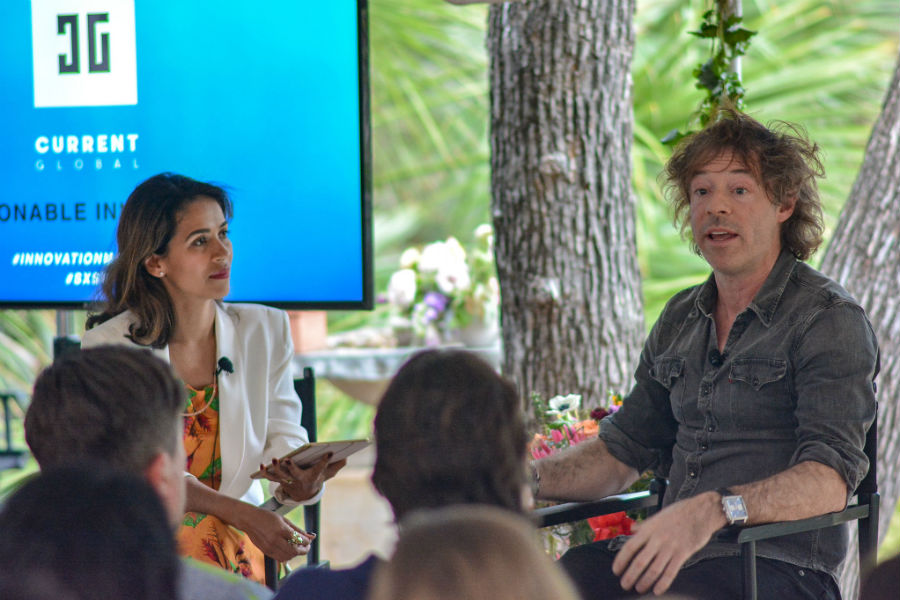 Current Global's co-founder and CEO Liz Bacelar and Calm founder Michael Acton Smith